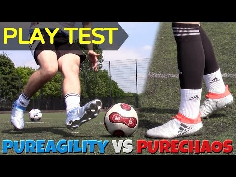 ADIDAS X 16+ VS MESSI 16+ BOOT BATTLE | Testing NEW PureChaos and PureAgility 2016 Boots