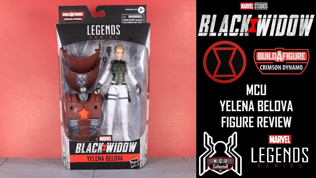 Marvel Legends Yelena Belova Figure Crimson Dynamo Wave NO BAF New /& MIB