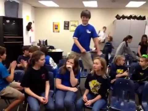 Spring forest middle school period six theatre Harlem shake