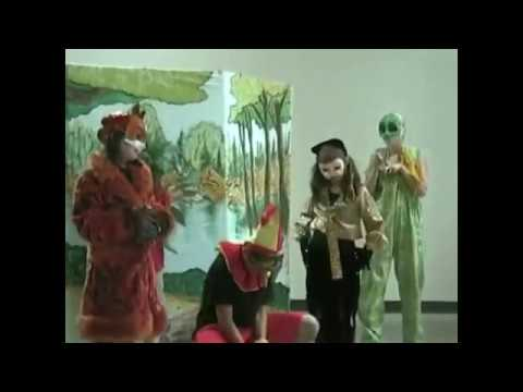 Part 1 of Pinocchio''s Puppet Show Adventures-Calgary Theatre Arts Classes for kids