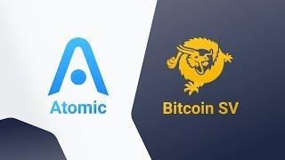 Bitcoin SV Atomic Wallet