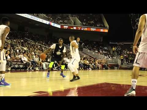 Pat The Roc s Off Handles at Celebrity Game with CHRIS BROWN
