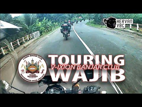 Touring Wajib Vixion Banjar Club Goes To Baturraden Purwokerto