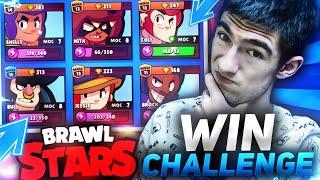 WIN każdą postacią CHALLENGE  BRAWL STARS POLSKA  (odc.49)