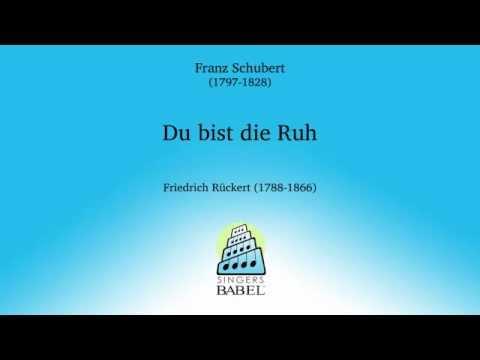 Du bist die Ruh - Franz Schubert