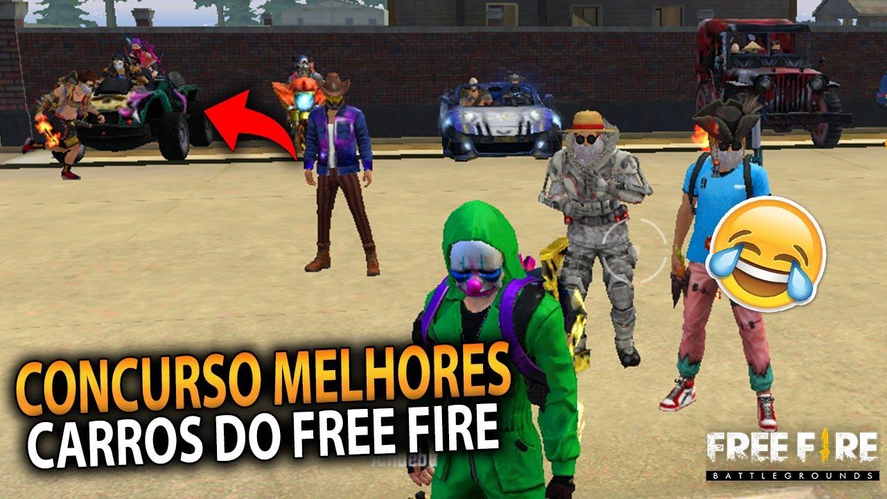 CONCURSO DOS MELHORES CARROS DO FREE FIRE