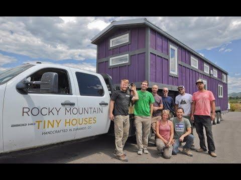 Meet Pimberly, The 460 Square Feet Tiny House