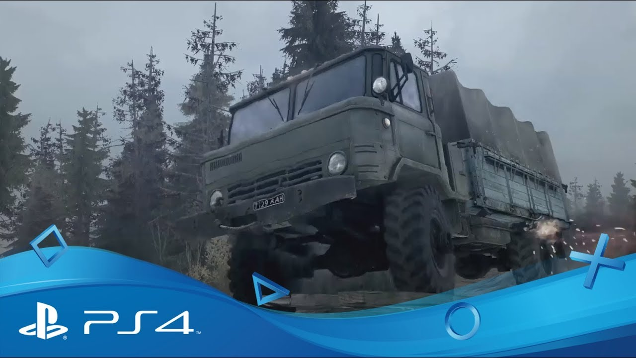 spintires mudrunner reveal trailer ps4 youtube. Black Bedroom Furniture Sets. Home Design Ideas