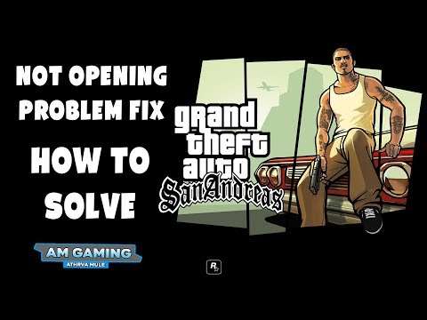 [Fix] Gta San Andreas Not Opening | Solved | 100% Working | For Pc | In Hindi | #amgaming
