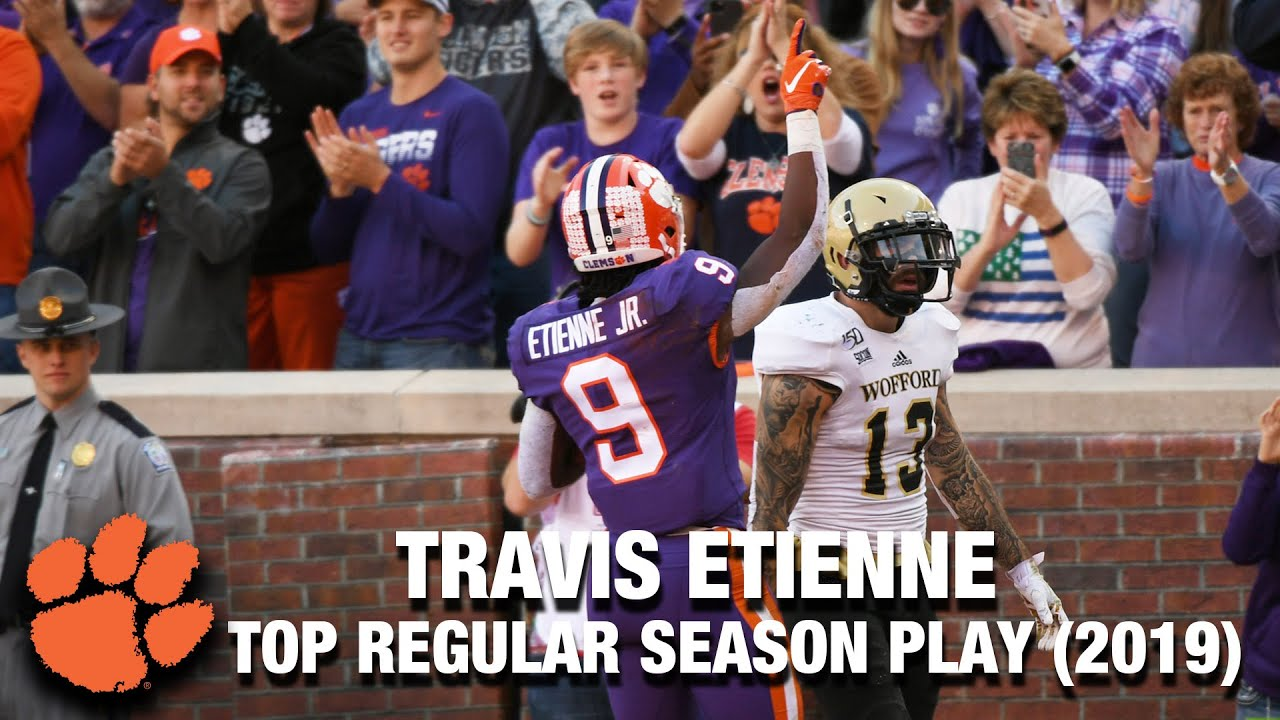 Clemson RB Travis Etienne | 2019 Top Regular Season Play