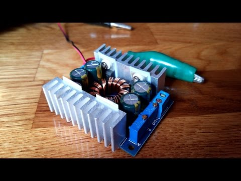 8A Solar Wind Energy Automatic Step Up Step Down Power Module DC [4K]