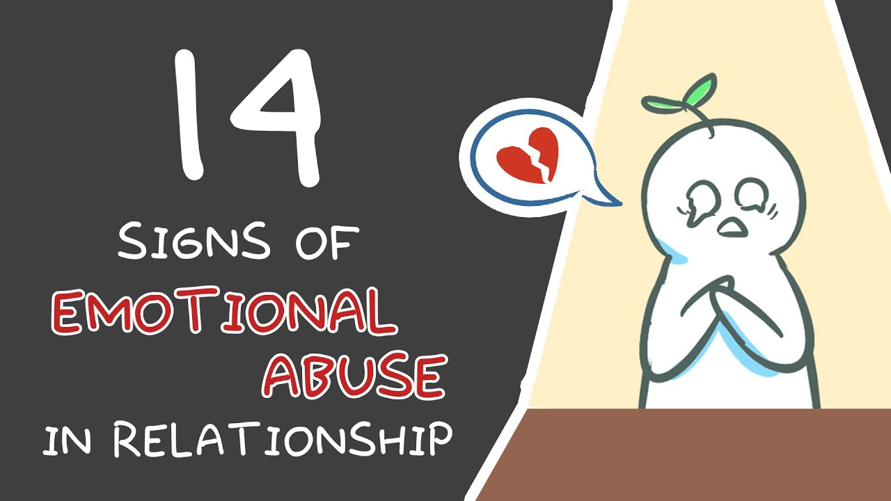 Psychological abuse in relationships signs