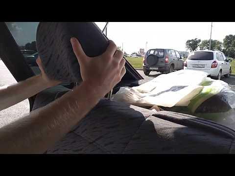 Лада  2114  быстрое снятие подголовников передних,задних подголовников ваз лада калина приора гранта