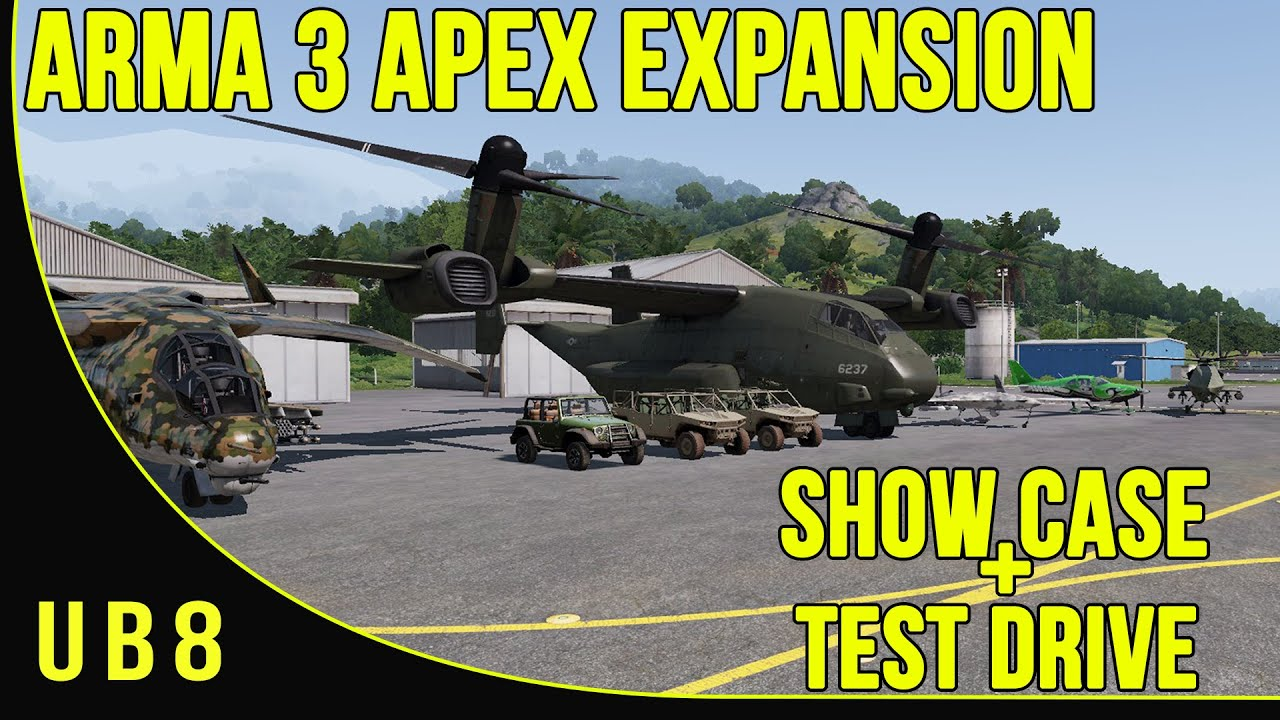 Arma 3 Apex adds 13 weapons, 10 vehicles, four player co