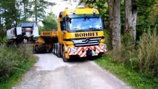 Schwertransport Fa. Bohnet Liebherr 984
