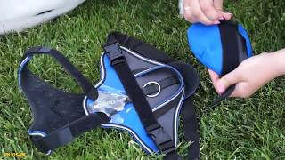 How to place the IDC®Universal bag on the IDC®Longwalk Y-harness