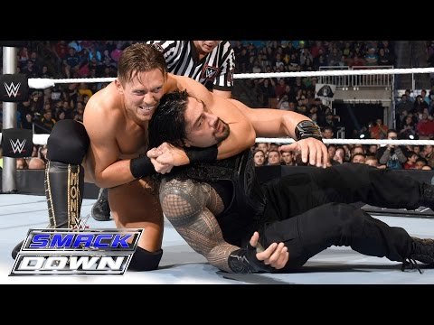 Roman Reigns vs. The Miz - Champion vs. Champion Match: SmackDown, April 28, 2016