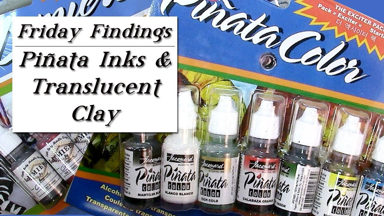 using piñata inks lumiere paints with pardo translucent polymer