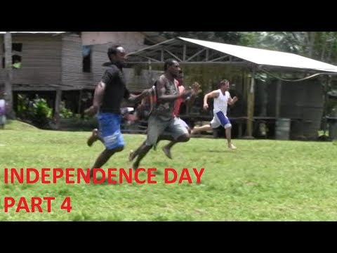 INDEPENDENCE DAY Papua New Guinea Part 4