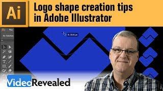 Logo shape creation tips in Adobe Illustrator (30 min. Deep Dive!)