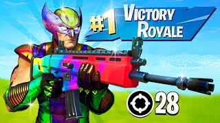 Winning in Squads w/ Fresh, Avxry & Ranger! (Fortnite Season 4)