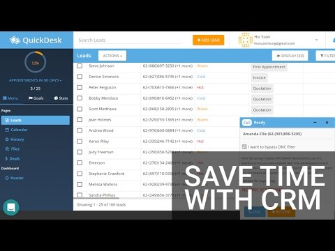 Send Personalized Email and SMS in Bulk - QuickDesk Promo