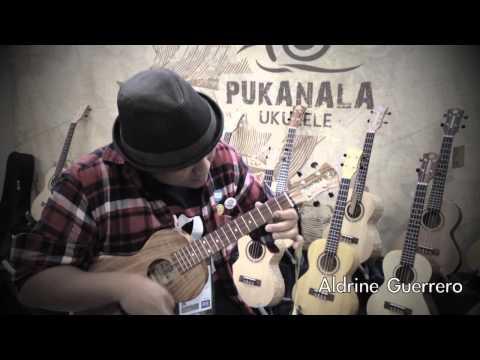 Aldrine Guerrero play pukanala ukulele