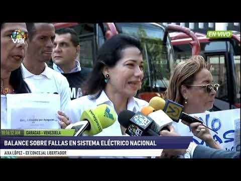 Venezuela - Exconcejal ofrece balance sobre fallas en el servicio eléctico  - VPItv