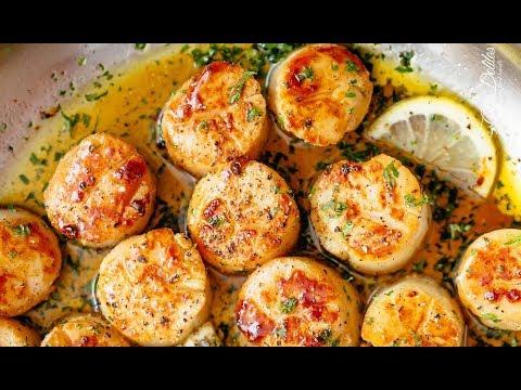Lemon Garlic Butter Scallops