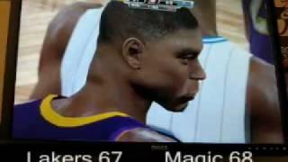 NBA 2K9 PC Gameplay - Lakers vs. Magic! Wow!