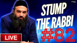 STUMP THE RABBI (82) Rabbi Akiva's Parents, Intermarriage, TAXES, Viduy, PARDES, Teaching Noahides