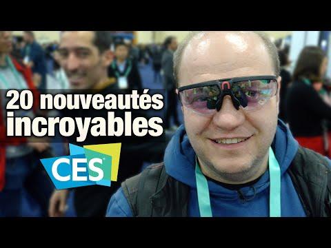 #CES2020 - 20 Nouveautés Incroyables !