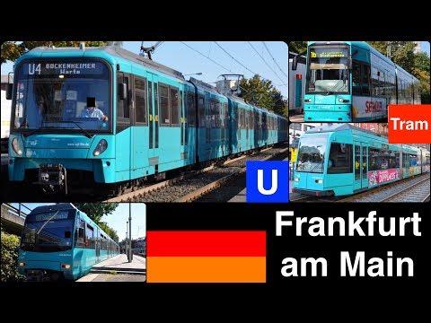 U Bahn, Tram in Frankfurt am Main [Series U5, U4, S, R]
