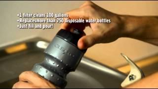 Clear2Go Water Bottle