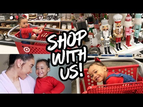 MOM VLOG | Shop With Us At TARGET! + Haul!