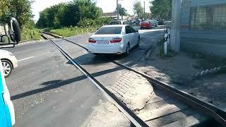 Железнодорожный переезд Таганрогская Ростов-на-Дону