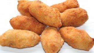 Croquetas de pollo (adaptando la receta sirve para CELÍACOS e INTOLERANTES A LA LACTOSA)