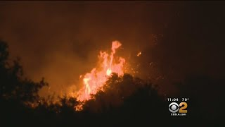 Firefighters Trying To Push Thomas Fire Into Forest, Away From Homes