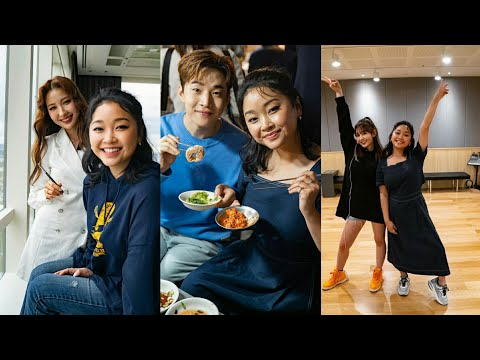"""To All The Boys I've Loved Before"" Star Lana Condor Hangs Out With Henry Lau, Jeon Somi & Risabae"