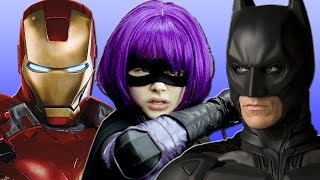 7 Favorite Non-Super Powered Movie Heroes