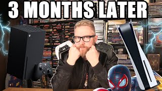 PS5 AND XBOX SERIES X 3 MONTHS LATER - Happy Console Gamer