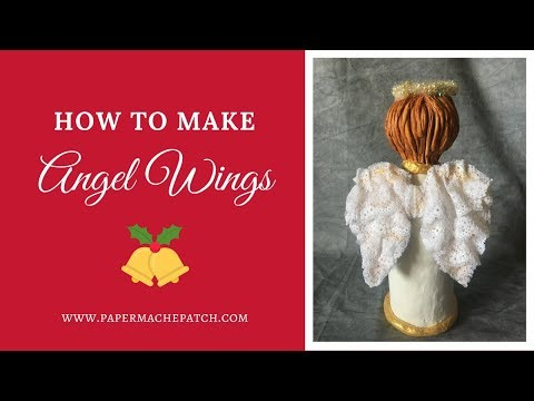 How to Make Angel Wings for Your Art Doll