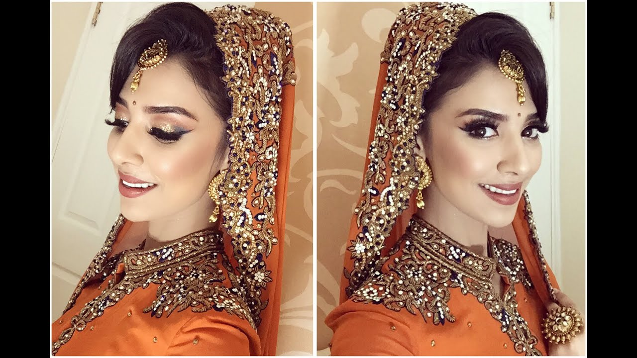 Bride asian hair for style
