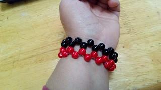 DIY Handmade Accessories - How to Make an Easy Beading Bracelet + Tutorial !