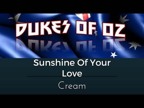SUNSHINE OF YOUR LOVE (CREAM) BAND COVER