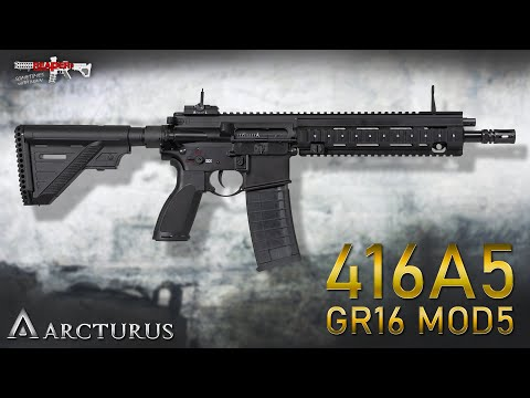 [Review] Arcturus 416A5 / GR16 MOD5 S-AEG - Alternative Zur HK416? - 6mm Airsoft/Softair (German,DE)