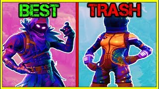 TOP 15 SKINS IN FORTNITE! (Fortnite Battle Royale!)
