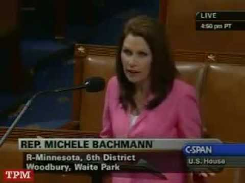 "Michele Bachmann speaks on DHS ""Right-wing Extremism"" Report"