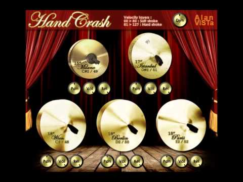 Hand Crash VST by Alan ViSTa