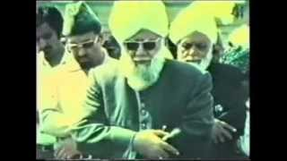 1978 Visit of Hazrat Mirza Nasir Ahmad to England and Deliverance from The Cross Conference